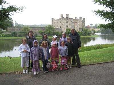 Adventurers summer day out - Leeds Castle 2008!