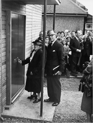 Opening of Townley Road Baptist Chapel 18 Aug 1956