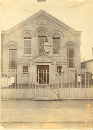 The Old Baptist Chapel in 1908